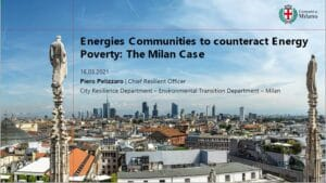Presentation slide of Milan workshop