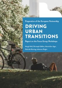Cover page with download link of Report on DUT Focus Group Workshops